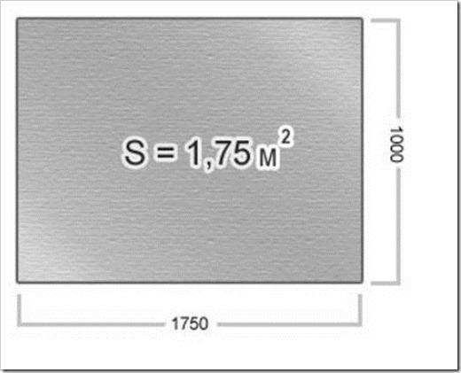 Размеры плоского шифера
