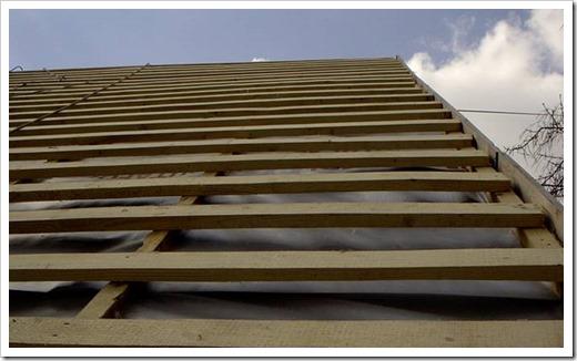 Обрешетка крыши под металлочерепицу