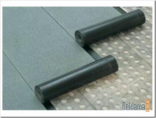 Сколько метров в рулоне рубероида?