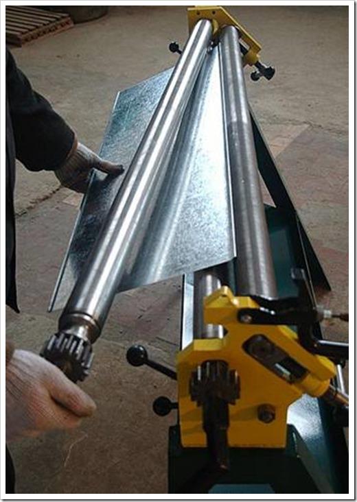 Изготовление водостоков из оцинкованной стали