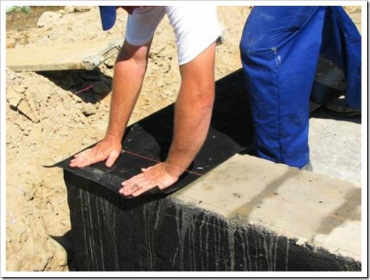 Рубероид для гидроизоляции фундамента