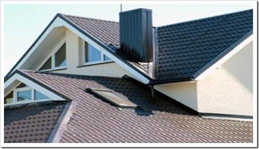 Устройство крыши из металлочерепицы.