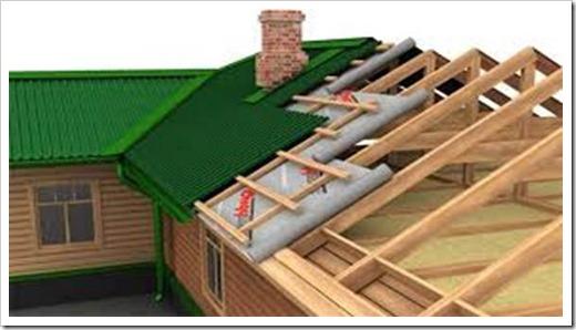 Как Утеплить Крышу Из Шифера И Рубероида
