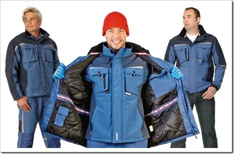 Утеплённая рабочая одежда