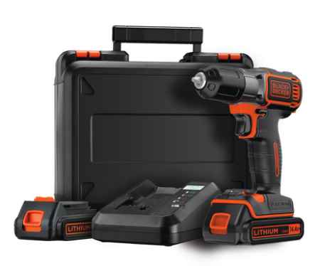 Купить Black & decker Asd14kb-qw