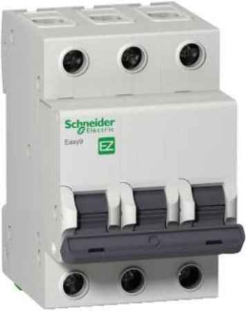 Купить Schneider electric Easy9 ВА 3П 16А c 4.5кА