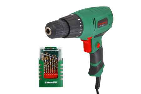 Купить Hammer Drl400a + набор сверел 202-908