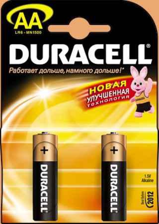 Купить Duracell Lr6 bp12  1.5В aa 1шт. (толстая)