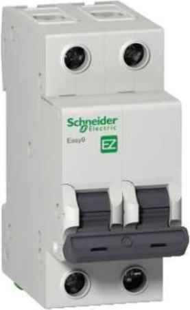 Купить Schneider electric Easy9 ВА 2П 25А c 4.5кА
