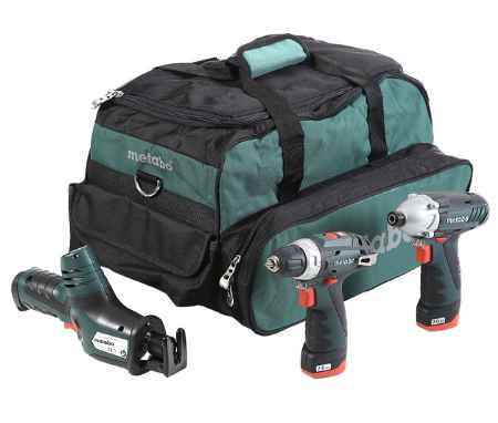 Купить Metabo Combo set 3.2 10.8В liion: bs+ase+ssd+2x2.0Ач