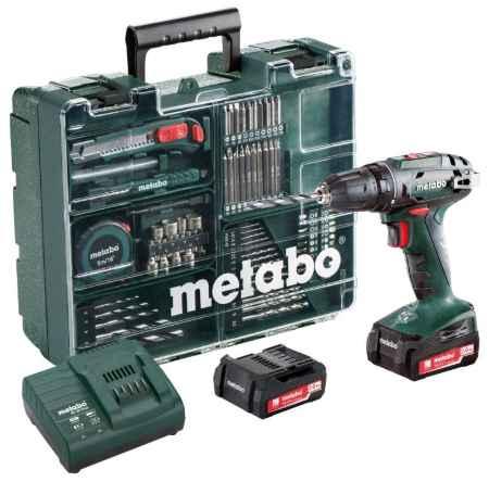 Купить Metabo Bs14.4 с набором