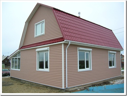 Принципы монтажа сайдинговых фасадов