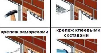 Инструкция по крепежу стеновых панелей