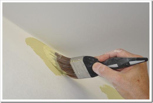 Окрашивание и промывка кисти