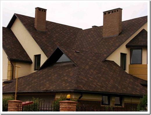 Почему битумную черепицу стоит устанавливать на крышу?