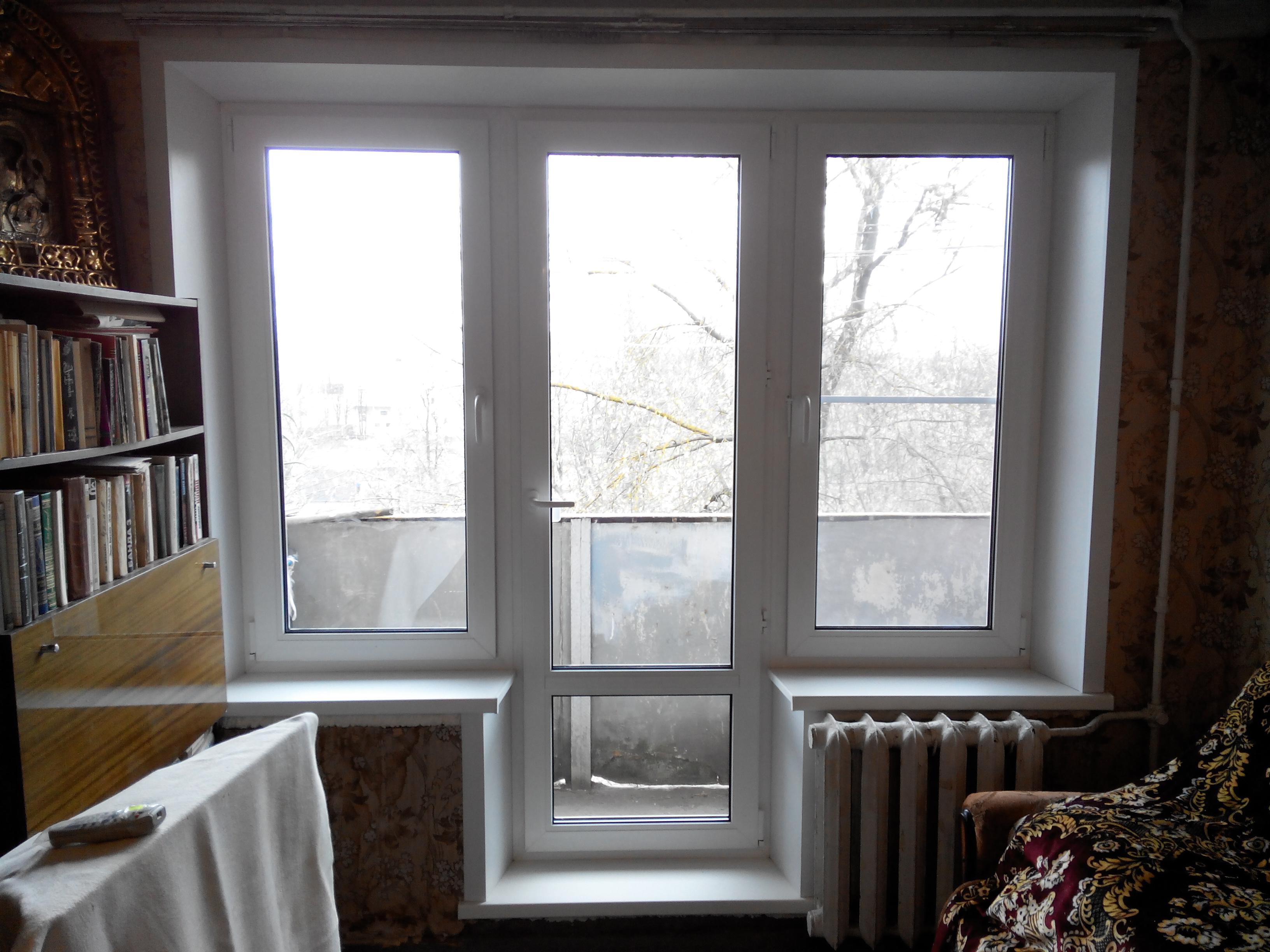 Балконные блоки века фото.