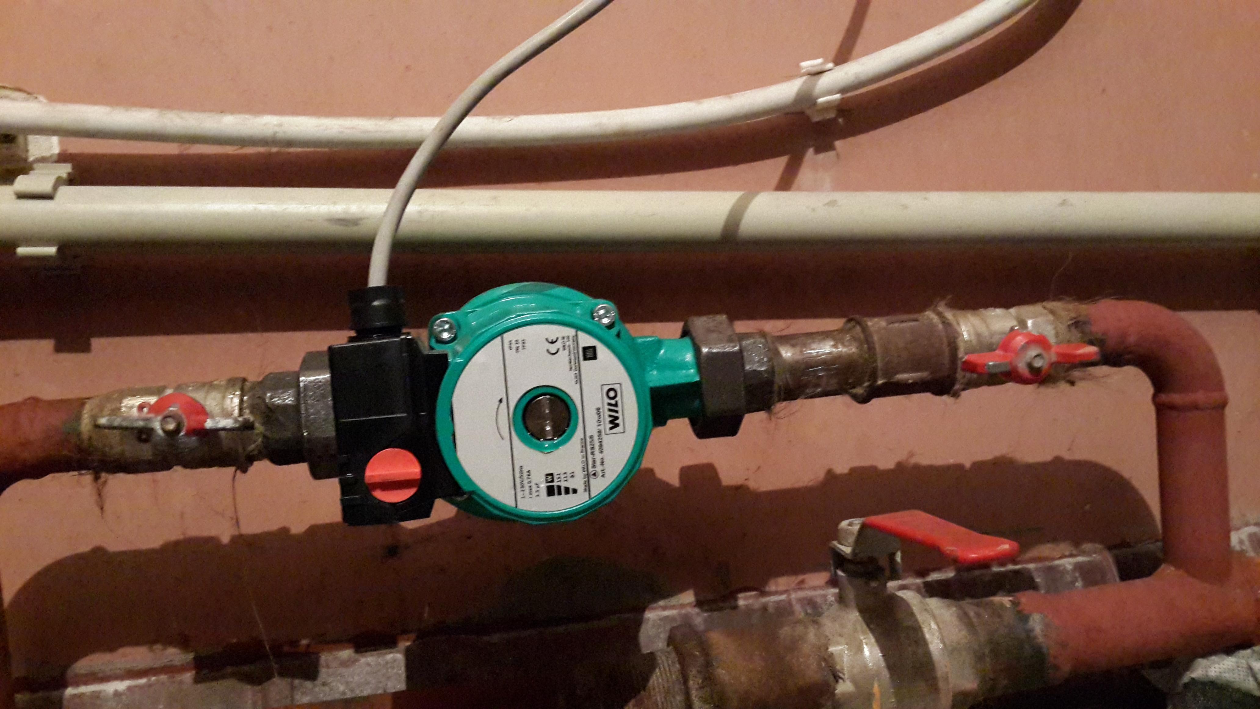 Циркуляционный насос для отопления в частном доме своими руками 97