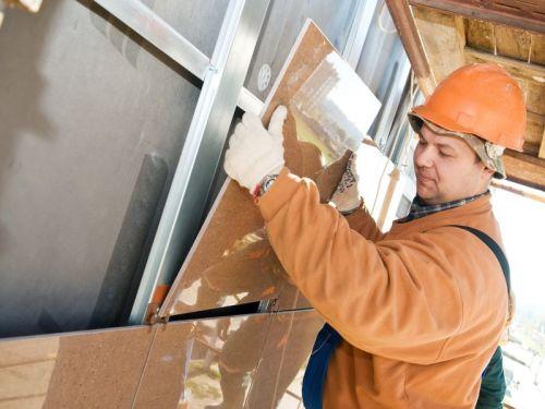 Как сделать вентилируемый фасад