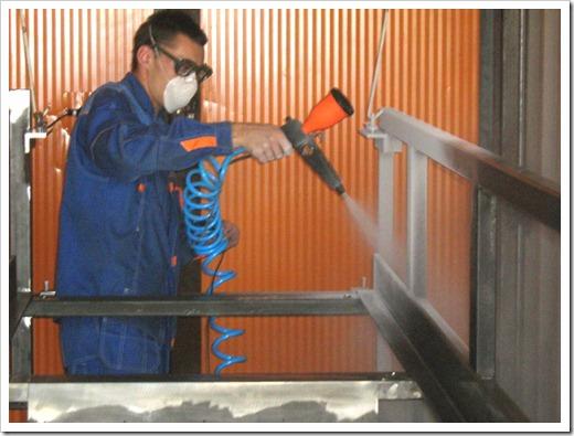 Технические преимущества порошкового покрытия