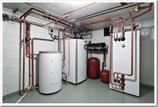 Как осуществляется подготовка системы отопления для закачки теплоносителя?