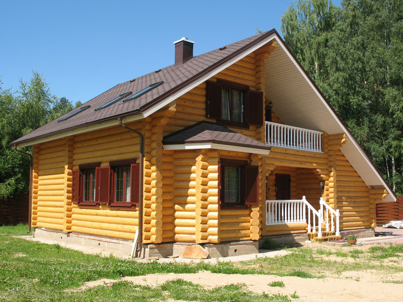 Типы домов из дерева