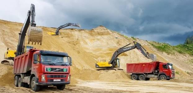 Способы добывания песка