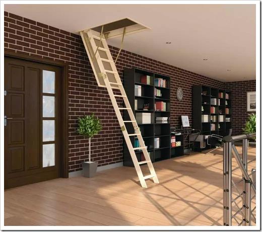 Стационарные и складные лестницы