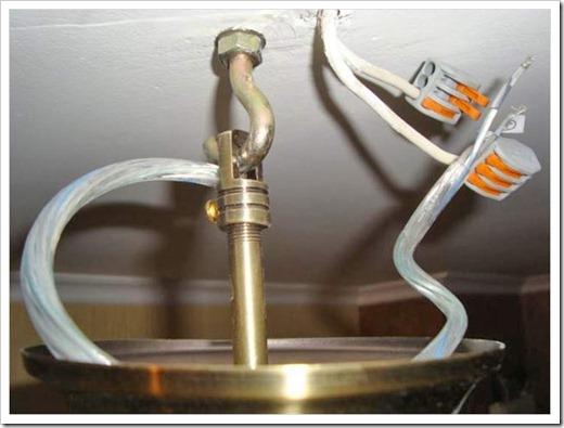 Использование анкеров с крюком