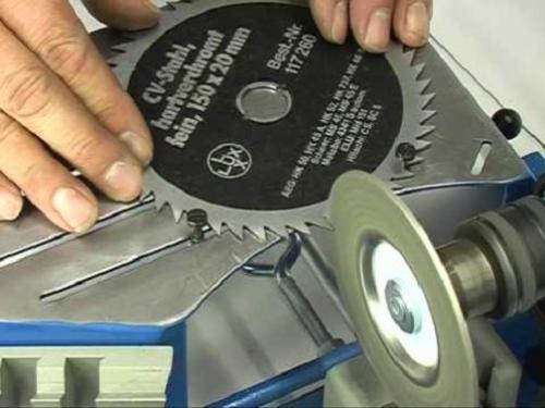 Как наточить пильный диск своими руками