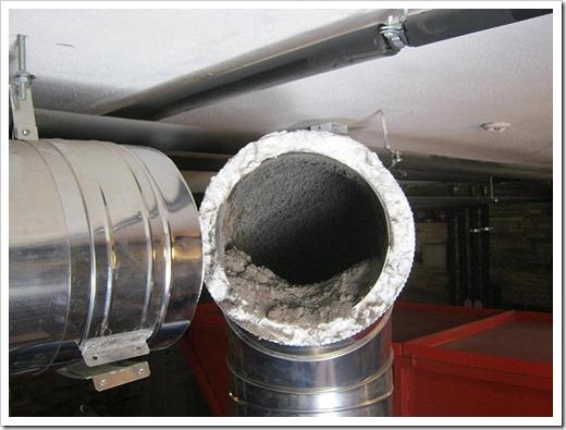 Методики выполнения чистки дымохода