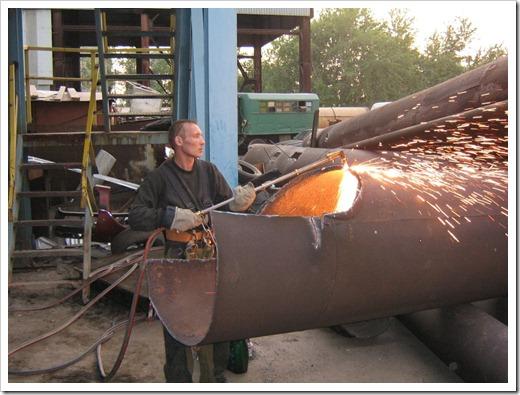 Процесс организации металлоконструкций