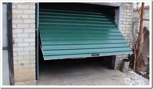 Различные виды гаражных ворот