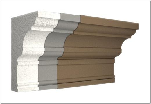 Материалы, которые служат для создания украшений фасада