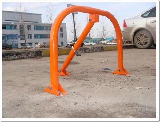 Принципы монтажа парковочного барьера