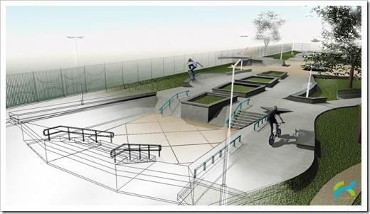 Скейт-парки в мире