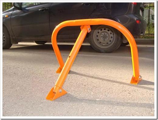 Принцип работы парковочного барьера