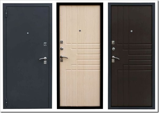 Качество и надежность входных дверей