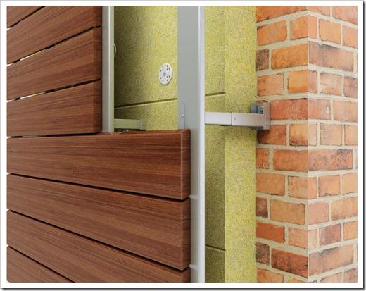 Обшивка стен деревянными материалами