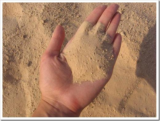 Хранение песка на участке