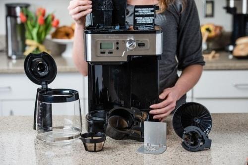 как почистить кофе машину