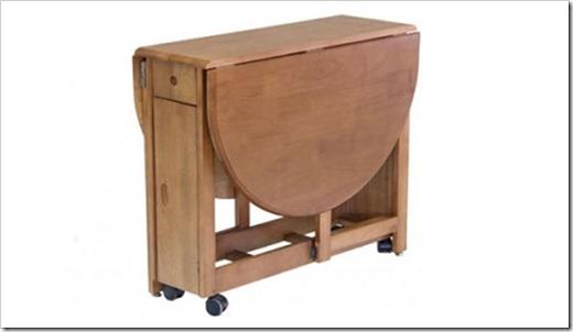 Самая простая конструкция раскладного стола