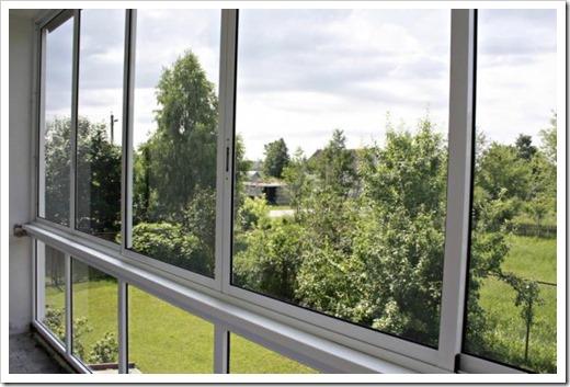 Алюминиевое остекление балконов в Москве