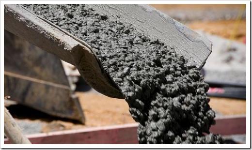 Ингредиенты, которые необходимы для приготовления бетона