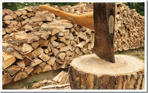 Колоть дрова – проще простого!