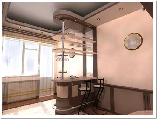 Барные стойки: корпусная мебель