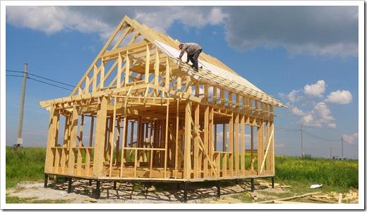 Из чего строится каркасный дом?