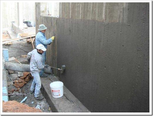 Цементно-полимерная изоляция для защиты сооружений