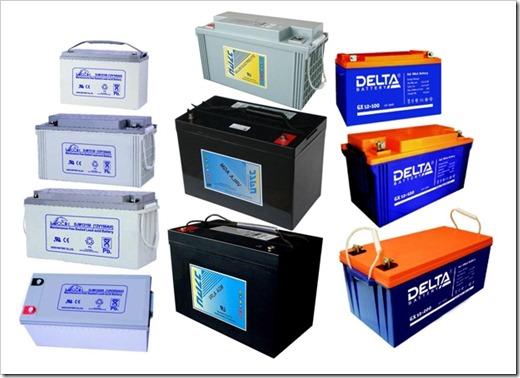 Батареи для солнечных панелей