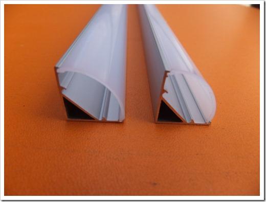 Различные виды алюминиевого профиля