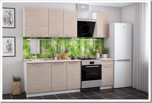Материалы, используемые в кухонном гарнитуре